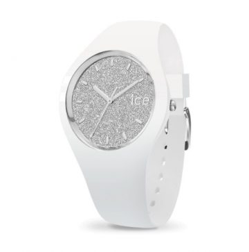 Ice Glitter Fehér, Ezüst Női Karóra 34mm 001344