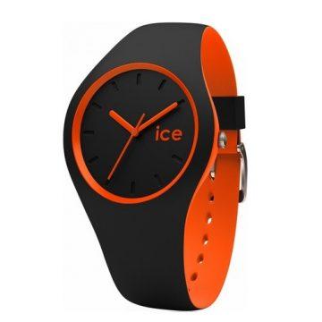 Ice Watch Duo szürke-narancs karóra 34mm 001528