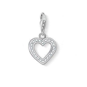 "Thomas Sabo ""heart"" charm 0018-051-14"