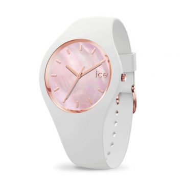 Ice Watch Pearl White Pink Női Karóra 34mm 016939