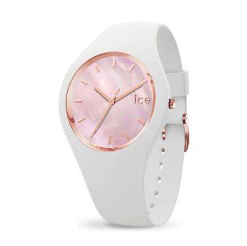 Ice Watch Pearl White Pink Női Karóra 40mm 017126