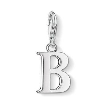 """Thomas Sabo """"letter b"""" charm 0176-001-12"""
