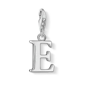 "Thomas Sabo ""E betű"" charm 0179-001-12"