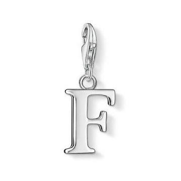 "Thomas Sabo ""letter f"" charm 0180-001-12"