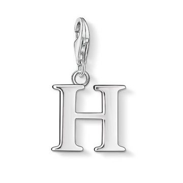 "Thomas Sabo ""H betű"" charm 0182-001-12"