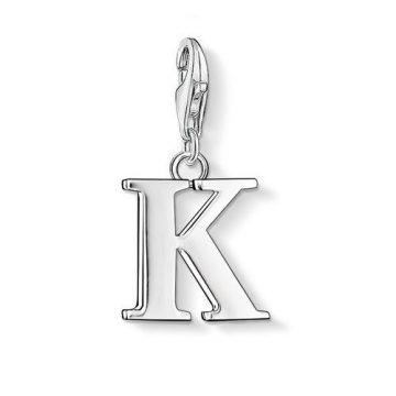 "Thomas Sabo ""letter k"" charm 0185-001-12"