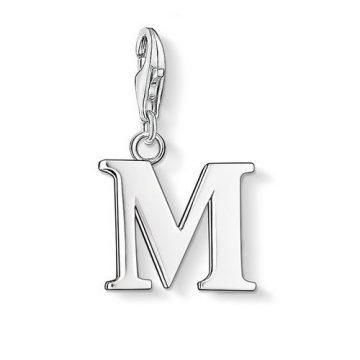 "Thomas Sabo ""letter m"" charm 0187-001-12"