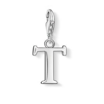 "Thomas Sabo ""letter t"" charm 0194-001-12"