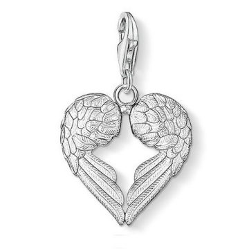 "Thomas Sabo ""winged heart"" charm 0613-001-12"