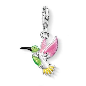 "Thomas Sabo ""colourful hummingbird"" charm 0655-007-7"
