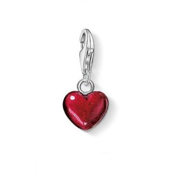 "Thomas Sabo ""red heart"" charm 0794-007-10"