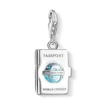 "Thomas Sabo ""Passport"" Charm 1233-007-17"