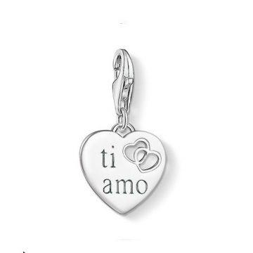 "Thomas Sabo ""Ti Amo Szív"" Charm 1406-001-12"