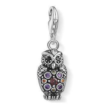 """Thomas Sabo """"sparkling owl"""" charm 1479-643-7"""