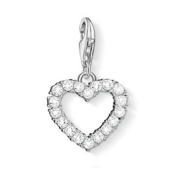 "Thomas Sabo ""romantic heart"" charm 1482-051-14"
