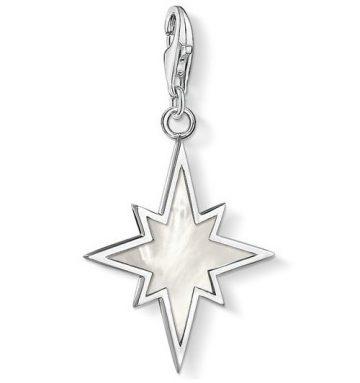 """Thomas Sabo """"Csillag Gyöngyházzal"""" Charm 1538-029-14"""
