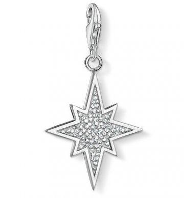 "Thomas Sabo ""glitter star"" charm 1540-051-14"