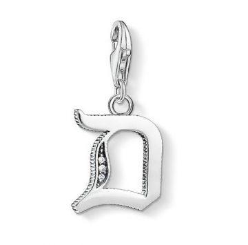 "Thomas Sabo ""letter d silver"" charm 1584-643-21"