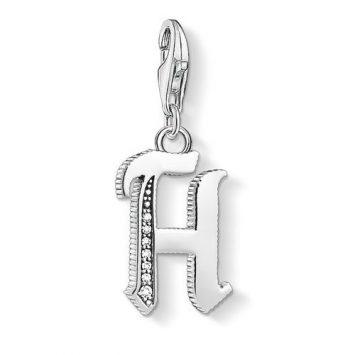 "Thomas Sabo ""letter h silver"" charm 1588-643-21"