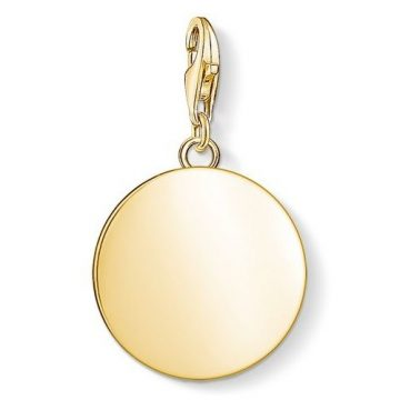 "Thomas Sabo ""golden disc"" charm 1635-413-39"