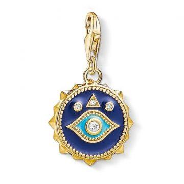 "Thomas Sabo ""blue nazar eye"" charm 1663-565-32"
