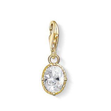 """Thomas Sabo """"white stone"""" charm 1673-414-14"""