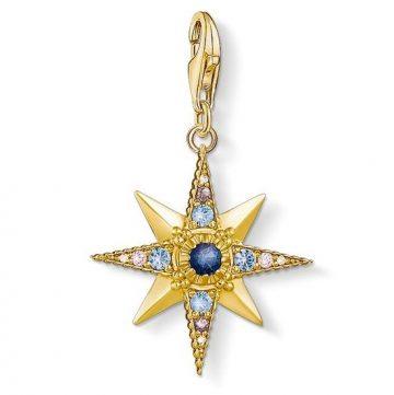 "Thomas Sabo ""royalty star"" charm 1714-959-7"
