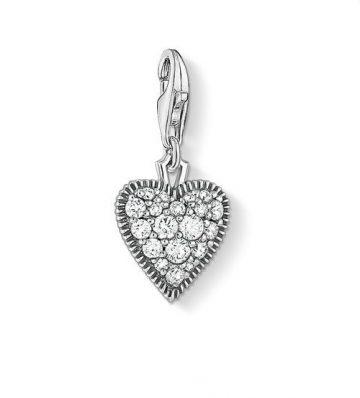 "Thomas Sabo ""vintage heart"" charm 1747-643-14"
