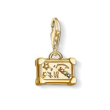 """Thomas Sabo """"vintage suitcase"""" charm 1763-996-7"""