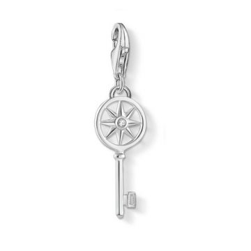 "Thomas Sabo ""key with star"" charm 1799-051-14"
