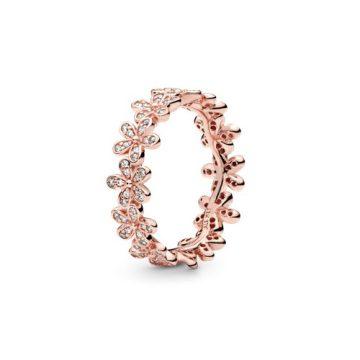 Pandora Ragyogó Százszorszépkoszorú Gyűrű 180934CZ