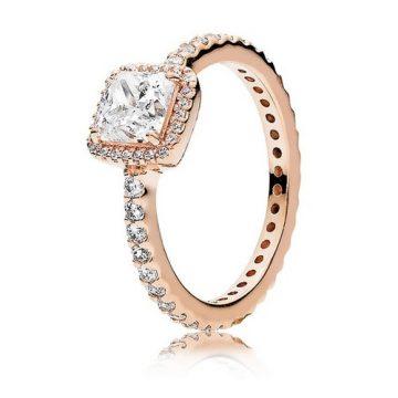 Pandora Időtlen elegancia rose gyűrű 180947CZ