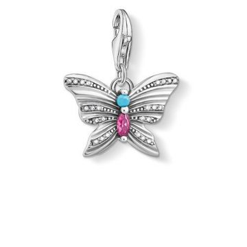 """Thomas Sabo """"butterfly"""" charm 1831-342-7"""