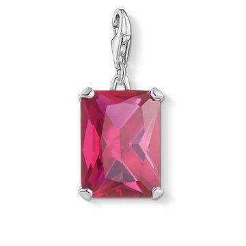 "Thomas Sabo ""hot pink stone"" charm 1834-011-10"