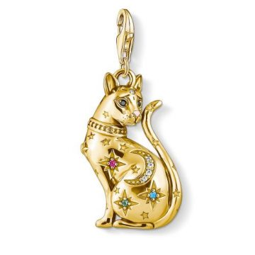 "Thomas Sabo ""cat constellation"" charm 1838-471-7"