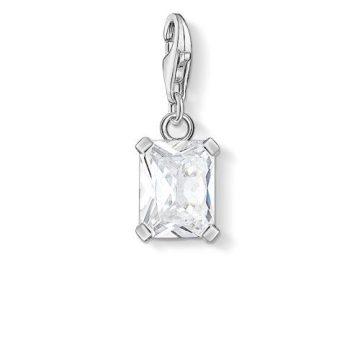 """Thomas Sabo """"white stone"""" charm 1849-051-14"""