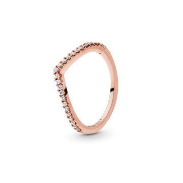 Pandora Rose Csillogó kívánság gyűrű 186316CZ