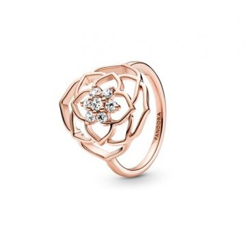 Pandora Rózsaszirom gyűrű 189412C01