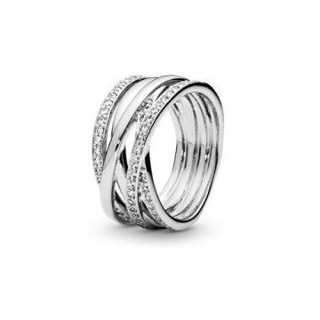 Pandora Összefonódva Gyűrű 190919CZ