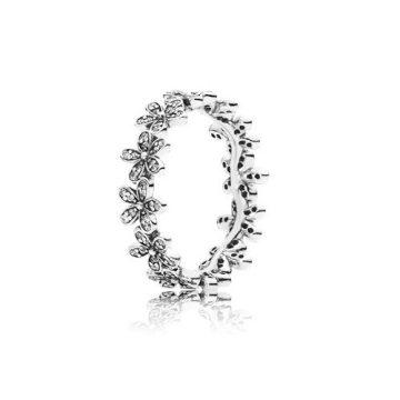 Pandora Ragyogó Százszorszépkoszorú Gyűrű 190934CZ