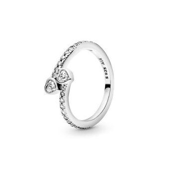 Pandora Örök szívek gyűrű 191023CZ