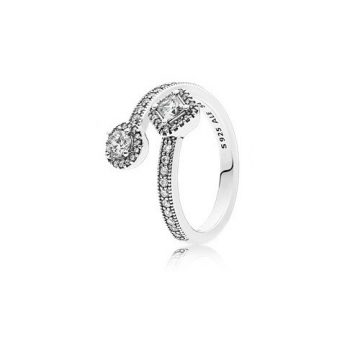 Pandora Absztrakt elegancia gyűrű 191031CZ