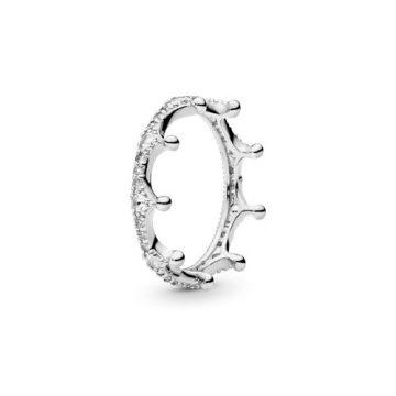 Pandora Bűbájos Korona Gyűrű 197087CZ