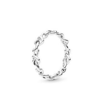 Pandora Összefonódó Szívek Gyűrű 198018