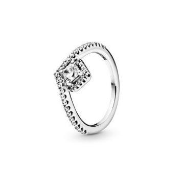 Pandora Szögletes Csillogás Kívánság Gyűrű 198420C01