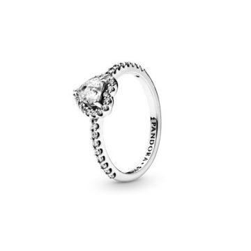 Pandora Kiemelt Szív Gyűrű 198421C01
