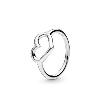 Pandora Fényes Szív Gyűrű 198613C00