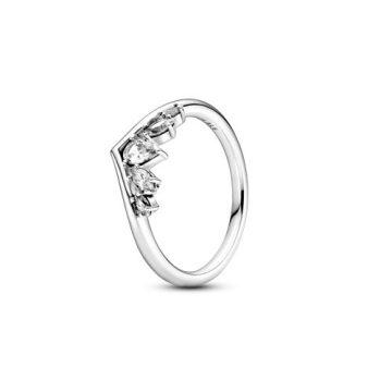 Pandora Szikrázó körte és navett kívánság gyűrű 199109C01