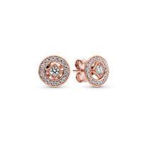 Pandora rose vintage elegancia fülbevaló 280721CZ