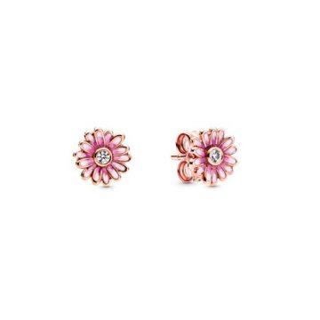 Pandora rose rózsaszín százszorszép gombfülbevaló 288773C01